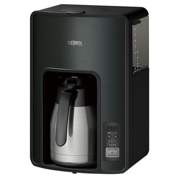 サーモス 真空断熱ポット コーヒーメーカー ECH-1001 BK ブラック(1台)の写真