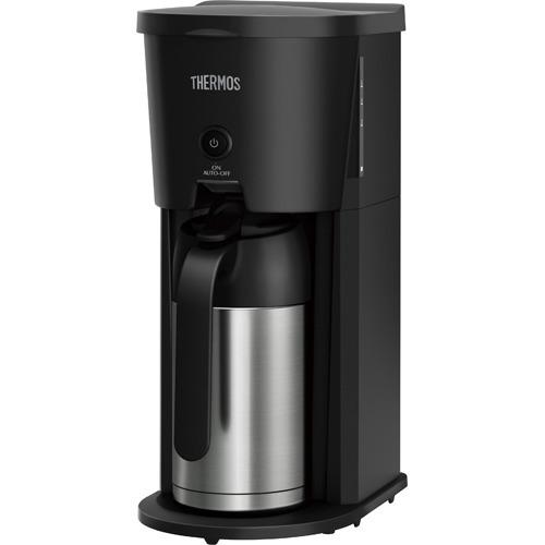 サーモス 真空断熱ポット コーヒーメーカー 0.63L ECJ-700 BK(1台)の写真