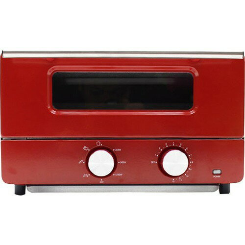 スチームオーブントースター HE-ST001 レッド(1台)