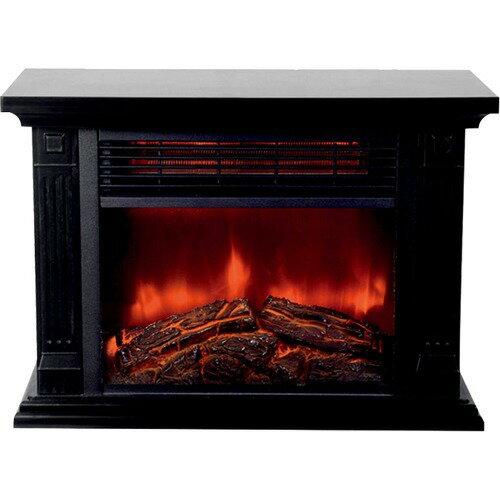 ヒロコーポレーション 暖炉ヒーター HD-100BK(1台)の写真