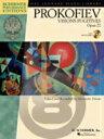 (楽譜) プロコフィエフ/束の間の幻影 Op 22(CD付) (Sergei Prokofiev Visions Fugitives Op 22)