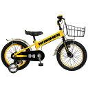ハマー 16型 幼児用自転車 HUMMER KIDS TANK3.0-SE イエロー/シングルシフト 13377-07