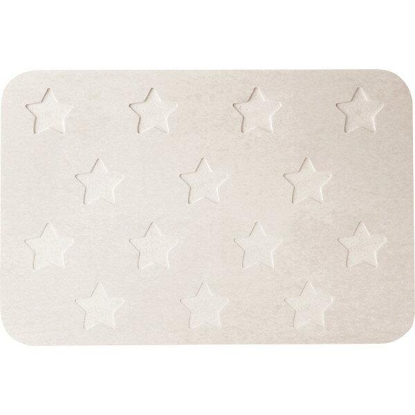 珪藻土バスマット Star 雪 GN-050-YU