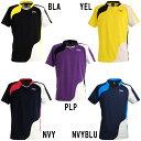 ブラックナイト ゲームウェアT-50116 バドミントン ウエア ゲームシャツ 半袖 シャツ ユニセックス BlackKnight画像