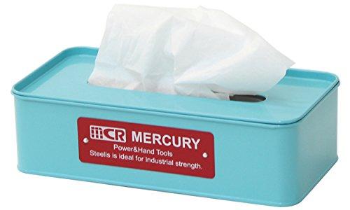 マーキュリー ブリキティッシュボックス ブルーの写真