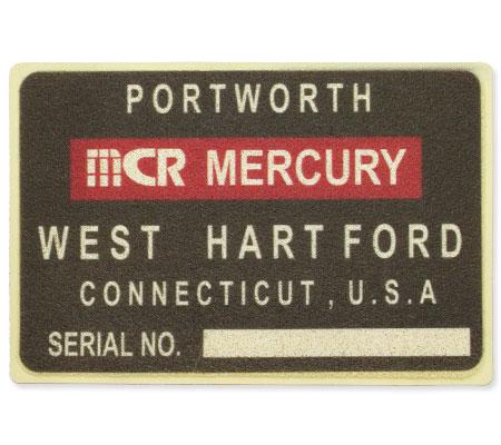 MERCURY マーキュリー PVCラバーコイル ガレージマット ブラック Lサイズ/59.5x89.5cm