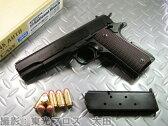 CAW モデルガン 限定生産品 ナショナルマッチ戦前型 .45Auto Colt M1911A1 ヘビーウェイト HW ブラック ダミーカート仕様