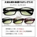 目を保護するサングラス TB-3024 01・ブラック 1022641