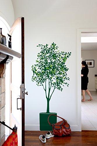 BLIK ウォールステッカー オリーブの木 ディープシー/ブルー BL-MJ-Olive