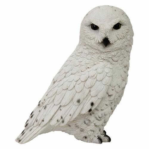 おもしろ雑貨 動物 アニマル 貯金箱 PET BANK ペットバンク (SNOWY OWL /シロフクロウ