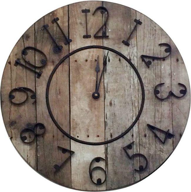 壁掛け時計 レトロ Barrel Clock
