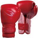 ボディメーカー BODYMAKER フィットネスボクシンググローブ KG017 レッド