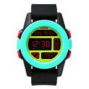 NIXON(ニクソン)腕時計 THE UNIT BLACK/BLUE/CHARTREUSE(ユニット ブラック/ブルー/シャルトリューズ) NXS-NA1971935-00 メンズ
