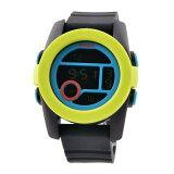 NIXON(ニクソン)THE UNIT 40 ユニット40 腕時計 シャルトルーズ/ブルー/ブラック(NA4901953-00)