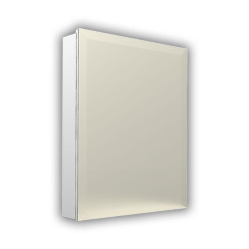 洗面所トイレ用白ミラーキャビネット可動棚収納 Ambest MT7331