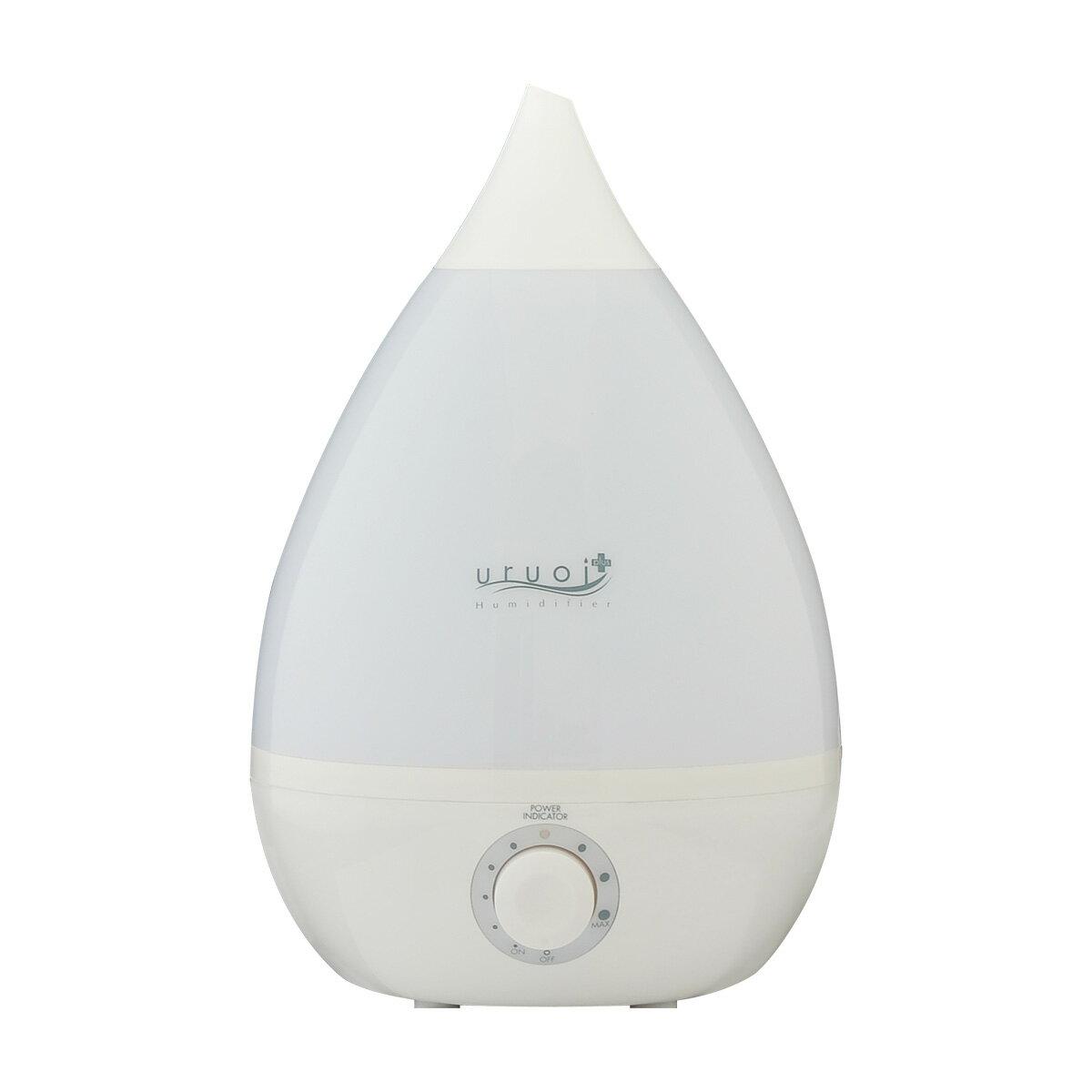 uruoi+ 超音波式 アロマ加湿器 3Lタイプ ドロップ型の写真