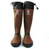 (FESTA(フェスタ)バードウォッチング 長靴 レインブーツ) ブラウン S(24.0cm)rain-007-br-s