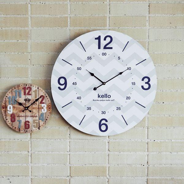 En Fance/アンファンス モチーフクロック Town series 60cm/掛時計の写真