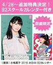 小嶋真子 2016 AKB48 B2カレンダー(生写真(2種類のうち1種をランダム封入))画像