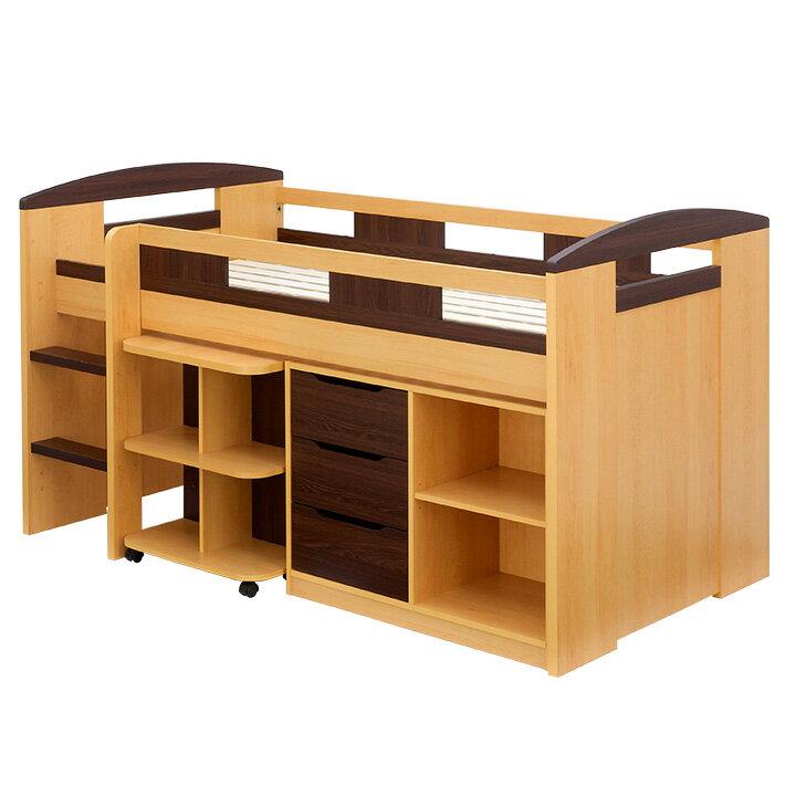 新色登場 システムベッド Shelm4 シェルム45色 ロフトベッド
