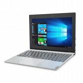 Lenovo 80XF0006JP ideapad Miix 320 プラチナシルバー/ Atom x5-Z8350/ 2/ 64/ Win10Pro/ 10.1