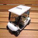 ホクシン交易 HTC ゴルフカートクロックホワイト W11GC001