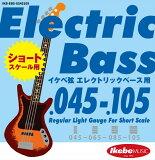 "IKEBE ORIGINAL Electric Bass Strings ""イケベ弦 ショートスケール・エレキベース用 045-105"" Regular Light Gauge For Short Scale/IKB-EBS-SS45105"