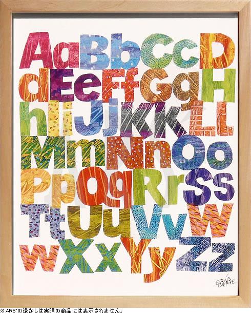 Eric Carle/エリックカール《Alphabets-アルファベット/ZEC-11003》人気絵本作家