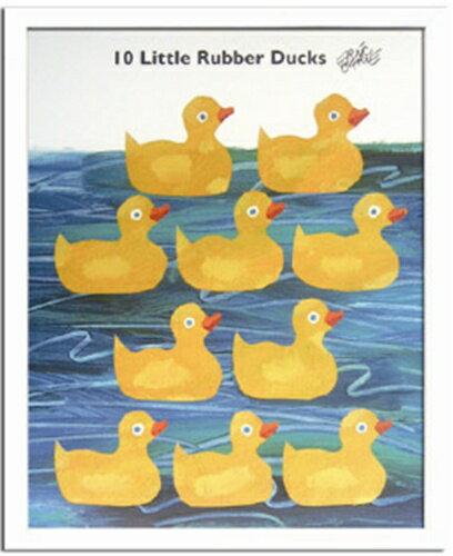 Eric Carle/エリックカール《Little Rubber Ducks/ZEC-11004》人気絵本作家