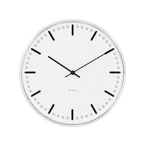 アルネ・ヤコブセン 43631 City Hall Clock  シティーホール クロック 21センチ 腕時計の写真