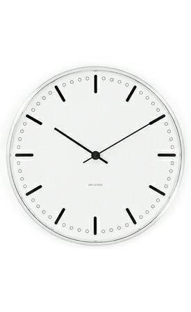 アルネ・ヤコブセン 43641 City Hall Clock  シティーホール クロック 29センチ 腕時計の写真