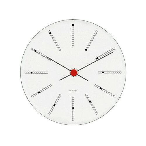 アルネ・ヤコブセン 43630 Bankers Clock  バンカーズ クロック 21センチ 腕時計の写真