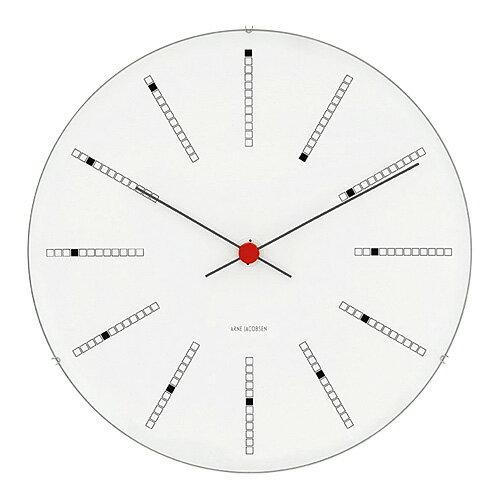 アルネ・ヤコブセン 43640 Bankers Clock  バンカーズ クロック 29センチ  腕時計の写真