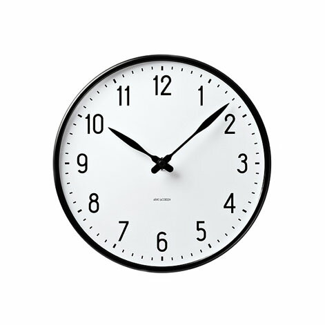 Arne Jacobsen Station Wall Clock 210 43633の写真