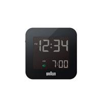 BRAUN 目覚まし時計 置き時計 BNC008BK-RCの写真