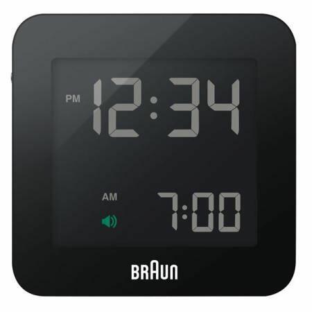 BRAUN 目覚まし時計 置き時計 BNC009BK-RCの写真