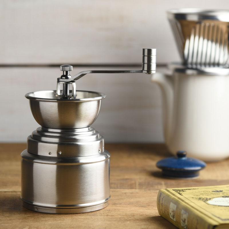 ポポロ コーヒーミル ハンドミルの写真