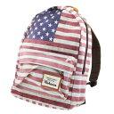 USA FLAG 星条旗 フォトプリントデイパック リュックサック
