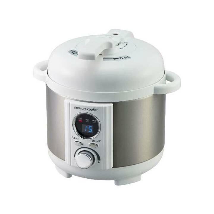 LIVCETRA ミニ電気圧力鍋 LPC-T12/W(1コ入)の写真