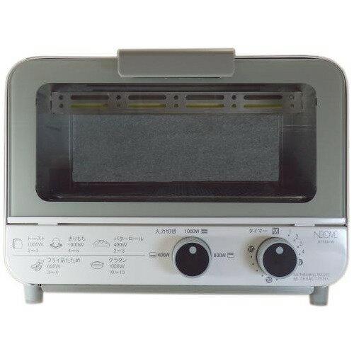 ネオーブ オーブントースター 9L ホワイト NTT9A-W(1台)の写真