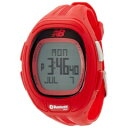 ニューバランス new balance 腕時計 ランニング Bluetooth ブルートゥース ハートレートチェストストラップ付 レッド メンズ EX2-915-004