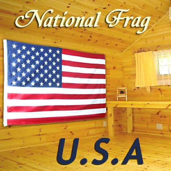 クロスワーク アメリカ合衆国国旗 150×90cm USA 星条旗 D OT