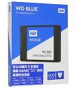 WESTERN DIGITAL WDS500G1B0A WD Blueシリーズ SSD 500GB SATA 6Gb/ s 2.5インチ 7mm cased 国内正規代理店品