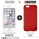 CASEPLAYiPhone 6用 Field Case レッド × SCREEN PROTECTOR ホワイト MAGPUL FLDCASEIP6RXSPW