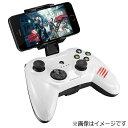 マッドキャッツ ワイヤレスゲームパッド Bluetooth・iOS Micro C.T.R.L.i Mobile Game pad ホワイト MFi認証 MC-MCTRLI-WHZ