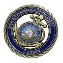 チャレンジコイン 紋章 アメリカ海軍省 記念メダル Challenge Coin デジスト