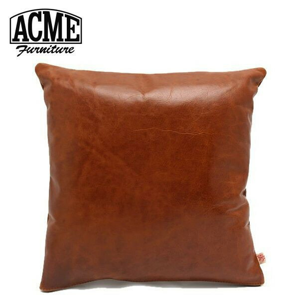 acme furnitureアクメファニチャー cushion chesunut レザークッション チェスナット  の写真