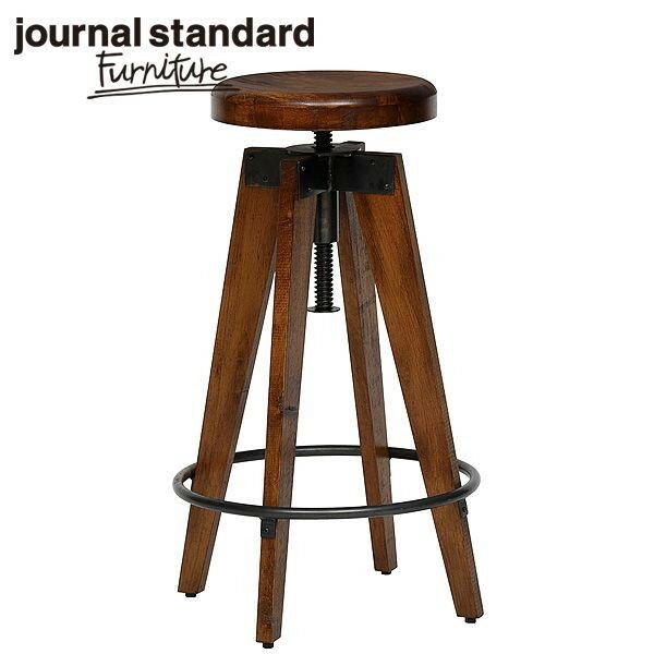 journal standard Furniture CHINON HIGH STOOL WOODの写真