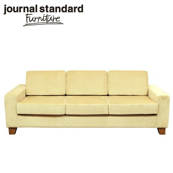 journal standard Furniture LYON SOFA 3P BEIGE 210cm