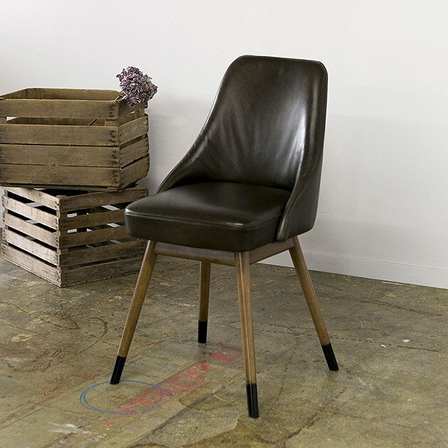 journal standard Furniture ジャーナルスタンダードファニチャー BOWERY CHAIR LEATHER レザーチェアの写真